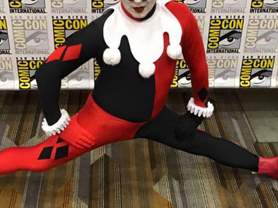 Which Male Star Dressed Up as Harley Quinn for Comic-Con This Year?!?