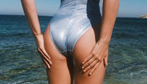 Guess Which Model Made Waves With This Metallic Booty Pic