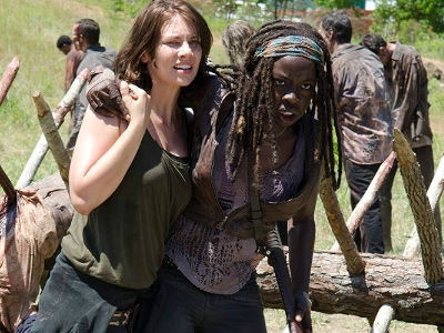 """""""Walking Dead"""" Cast Was UNRECOGNIZABLE at Comic-Con -- Wait'll You See Glam Makeovers!"""