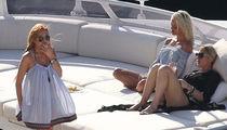 Lindsay Lohan: I'm On a Boat ... Ciao, Egor!