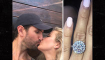 NBA's Jeff Withey -- Engaged to Playmate GF ... Who Busted Him for Cheating (Pic)