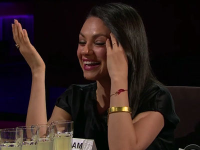 "Mila Kunis GRILLED on Ashton's Penis Size -- ""Carrot Stick or Beer Can?"" -- See Her Answer!"