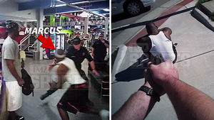 Ex-NFL QB Marcus Vick -- Insane Police Video ... Running from Cops, Captured at Gunpoint
