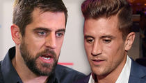 Aaron Rodgers -- I Don't Watch 'Bachelorette' ... 'Inappropriate' to Air Family Drama