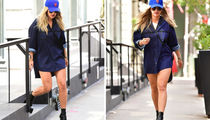 Rita Ora Strolling Through New York -- No Pants ... No Problem!