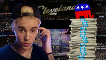 Justin Bieber: Sorry, GOP ... I'm Not for Sale
