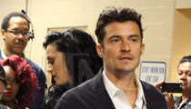 Orlando Bloom -- I'm with HER ... All Access with Katy Perry at DNC (PHOTOS)