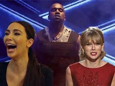 Kim & Kanye Get Candid in Brand-New Interview ... & SLAM Taylor Swift So Hard (Again!)