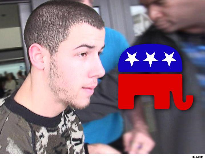 Nick Jonas -- Republicans Threw Millions at Me Too