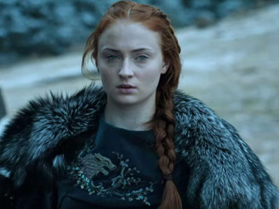 WHOA! Sansa Just Got a MAJOR Makeover -- And That Red Hair Is LONG GONE!