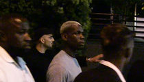 Paul Pogba -- Clubbing In Hollywood ... While Massive Man U Deal Underway (Video)