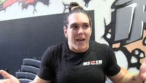 MMA's Gabi Garcia -- I'm Open to Fighting a Man ... If No Woman Steps Up (VIDEOS)