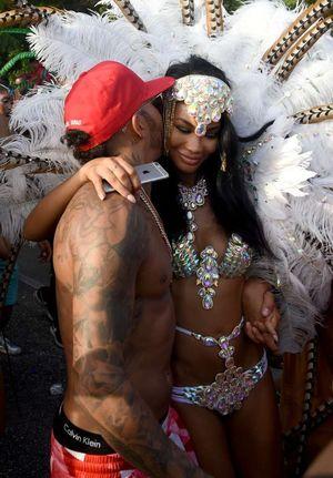 Lewis Hamilton and Chanel Iman -- The Racy Festival Photos
