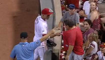 MLB's Joey Votto -- Apologizes To Fan ... For In-Game Shaming (VIDEO)