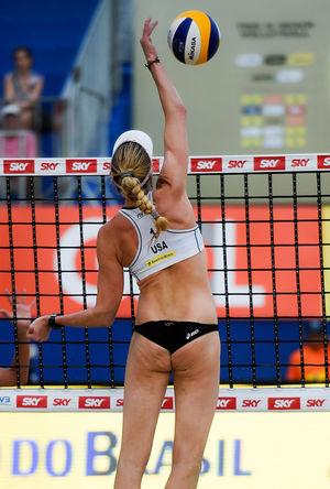 Olympian Kerri Walsh Jennings -- Livin' On the Wedge