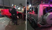Johnny Manziel -- Third Wrecked Car This Year (PHOTO GALLERY)