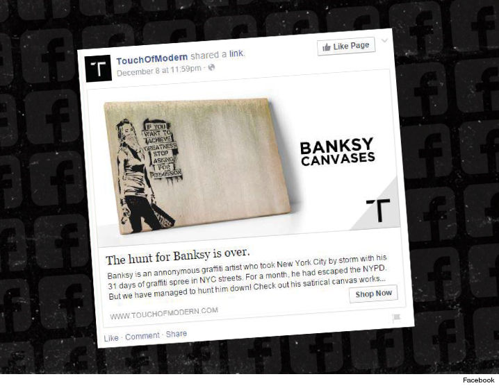 0805-banksy-graffiti-lawsuit-not-him-facebook-ad-touch-of-modern-FACEBOOK-01