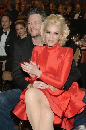 Gwen Stefani and Blake Shelton -- The Happy Couple