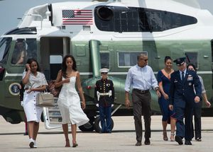 Flight of the First Family