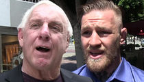 Ric Flair -- Blasts Conor McGregor ... You're a Classless Rip-off Loser
