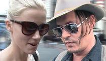 Amber Heard, Johnny Depp -- Settlement Hits a Wall
