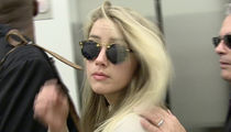 Amber Heard -- Cried, Yelled, Screamed ... You're Not Taking My Depo!!!