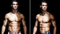Cristiano Ronaldo -- Models New Undies ... Put My Name On Your Crotch! (VIDEO + PHOTOS)