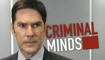 Thomas Gibson -- Suspended From 'Criminal Minds' After Kicking Writer