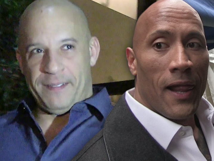 Vin Diesel Vs. The Rock Has the Crew Taking Sides