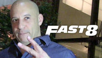 Vin Diesel -- Sayonara, 'Fast 8' ... Beef with Rock Rolls On