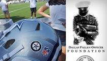 Dallas Police Org. To NFL -- Upset Over Rejected Decals ... 'It Hurts You Don't Support Us'
