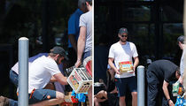 Liam Hemsworth -- Major Party Foul (PHOTOS)