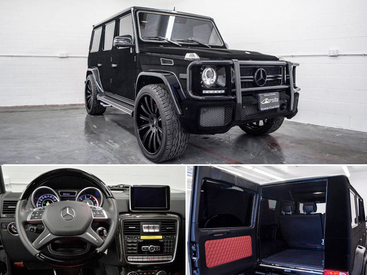 Blue Mercedes G Wagon >> Kylie Jenner Her G Wagon Can Be Yours   TMZ.com