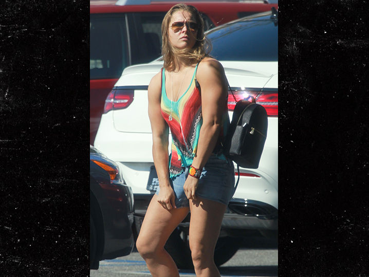 ronda rousey ready to fight photo