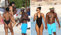 Kevin Hart & Eniko -- Honey Moonin' (PHOTOS & VIDEO)