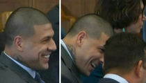 Aaron Hernandez to Lawyer -- Dude, You Murdered My Name (VIDEO)