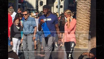 Robert Griffin III -- PDA with Hot New Blonde ... After Split from Wife (PHOTOS)