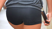 Guess The Star Spotted In Skintight Spandex