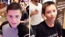 Nick Diaz -- Conor McGregor Hit a Kid ... In Water Bottle Tantrum (VIDEO)