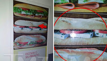 Ryan Lochte -- $400 for Cracked Sandwich Sign ... Highway Robbery? (PHOTOS)
