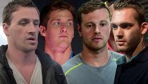 U.S. Swimmers -- Video Reportedly Shows Brawl with Security ... At Gas Station