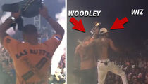 Snoop & Wiz Khalifa -- THE CHAMP IS HERE ... Bring Out UFC Star At Concert (VIDEO + PHOTOS)