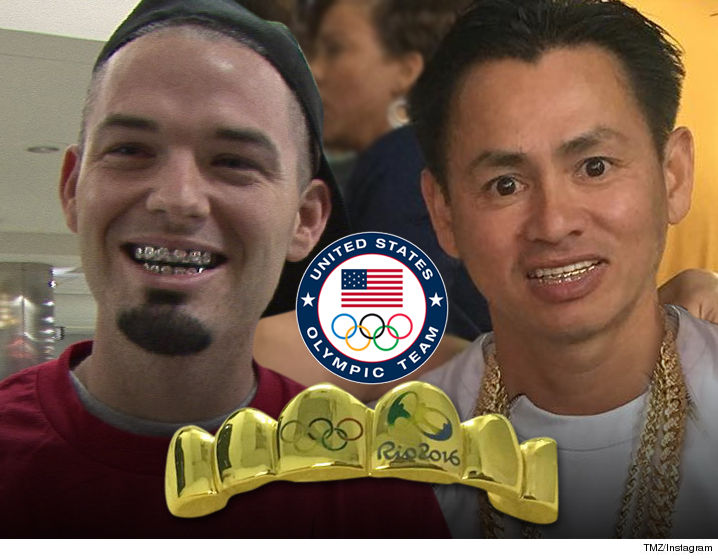 0819-paul-wall-johnny-dang-grill-olympics-TMZ-INSTAGRAM-01