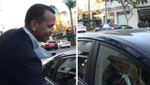 Alex Rodriguez -- Handing Out Cash In Bev Hills ... For Football Jerseys (VIDEO)