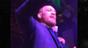 Conor McGregor -- Parties Hard After Beating Nate…