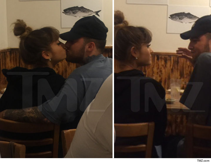 Ariana Grande -- Lip-Lock with Another Rapper (PHOTOS)