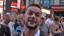 WWE's Finn Balor -- How'd I Celebrate Victory??? ... With My Parents! (VIDEO)