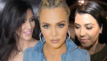 The Kardashians -- Judge Orders Sisters' Face Down