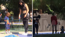 Kylie Jenner -- Stepping Up as Step Mom (PHOTOS)
