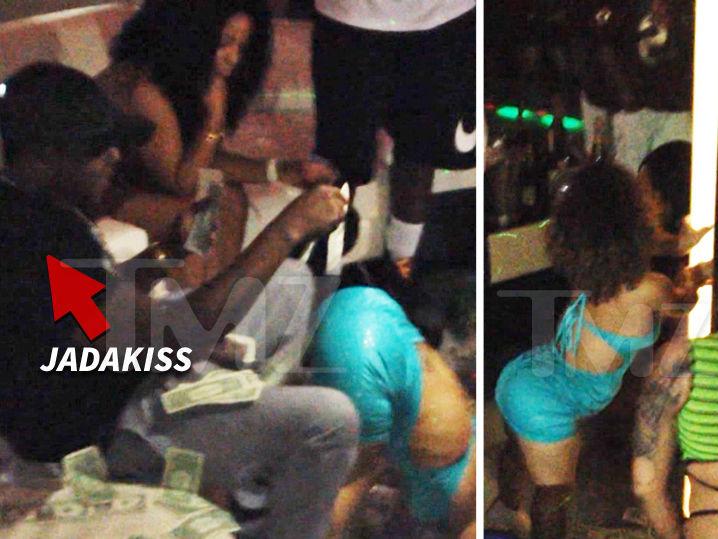 Jadakiss -- Drops Big Bucks for Little Stripper (VIDEO)
